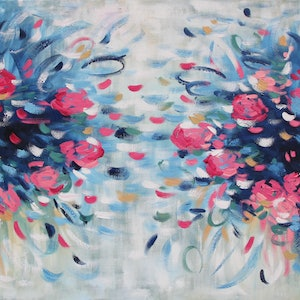 (CreativeWork) For You too by Belinda Nadwie. oil-painting. Shop online at Bluethumb.