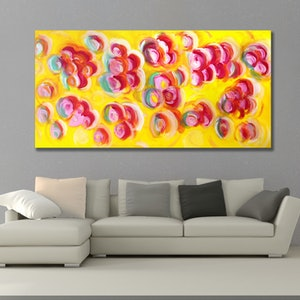 (CreativeWork) Anonymous Celebration  by Estelle Asmodelle. acrylic-painting. Shop online at Bluethumb.