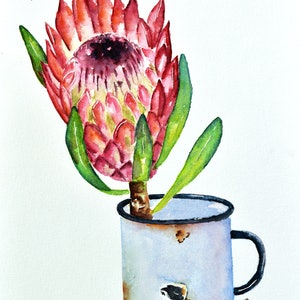 (CreativeWork) Yesterday's Gone by Luna Vermeulen. watercolour. Shop online at Bluethumb.