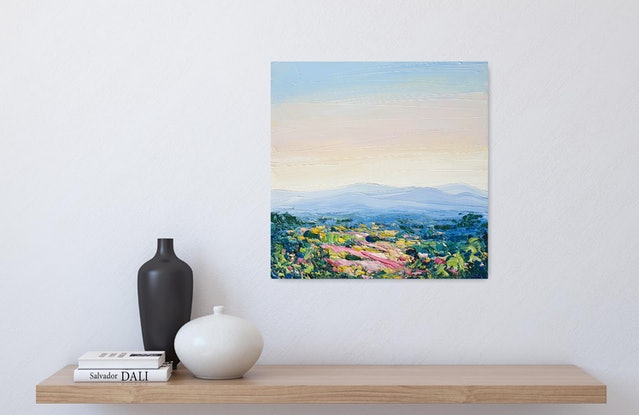 (CreativeWork) Love Of The Mountains - Framed - Landscape by Angela Hawkey. #<Filter:0x000056332b37a910>. Shop online at Bluethumb.