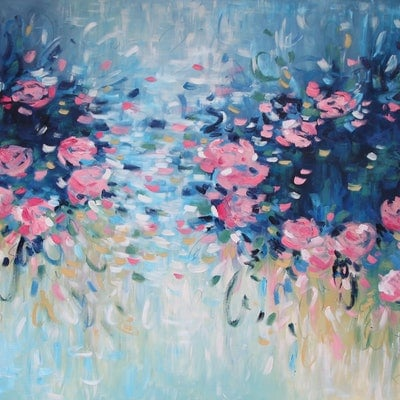 (CreativeWork) For You  by Belinda Nadwie. oil-painting. Shop online at Bluethumb.