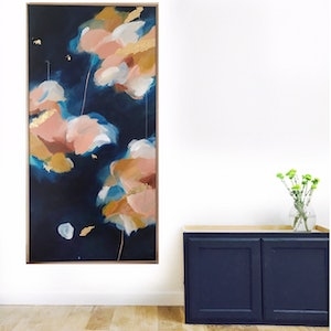 (CreativeWork) Alchemy Blue by Marnie McKnight. acrylic-painting. Shop online at Bluethumb.