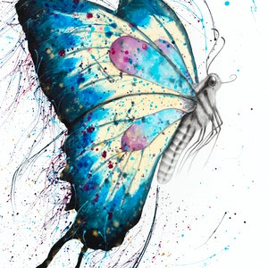 (CreativeWork) Picnic Butterfly by Ashvin Harrison. #<Filter:0x00007f97904dedb8>. Shop online at Bluethumb.