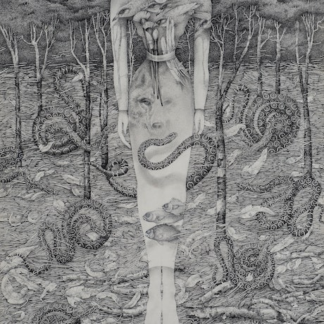 (CreativeWork) Creation - Conjurer by Lina Linton. Drawings. Shop online at Bluethumb.