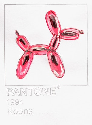 (CreativeWork) HOMAGE TO KOONS by Shane Bowden. Acrylic Paint. Shop online at Bluethumb.