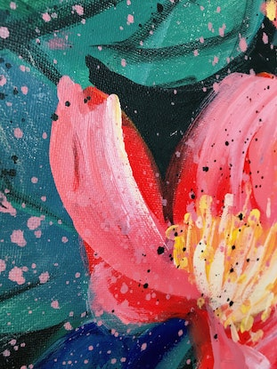 (CreativeWork) Together Is A Beautiful Place To Be - Ready To Hang by HSIN LIN. Acrylic Paint. Shop online at Bluethumb.