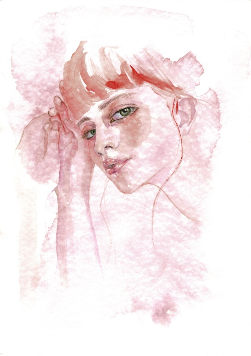 """(CreativeWork) """"It is so..."""" by Kathy Bierma. Watercolour Paint. Shop online at Bluethumb."""
