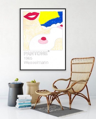 (CreativeWork) Wesselmann  by Shane Bowden. Acrylic Paint. Shop online at Bluethumb.