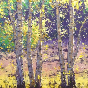 (CreativeWork) Aspen Autumn Trees by Graham Gercken. #<Filter:0x00007f3c4c6a6618>. Shop online at Bluethumb.