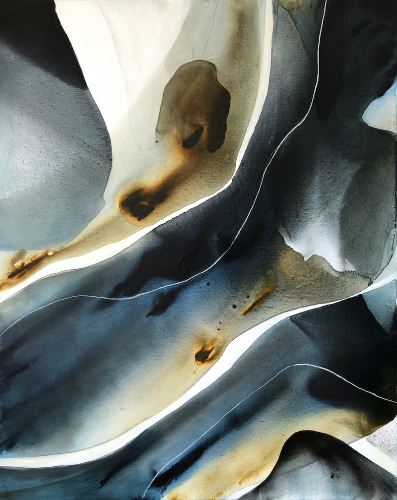 (CreativeWork) Bodies of Light 2 by Dinah Wakefield. Acrylic Paint. Shop online at Bluethumb.
