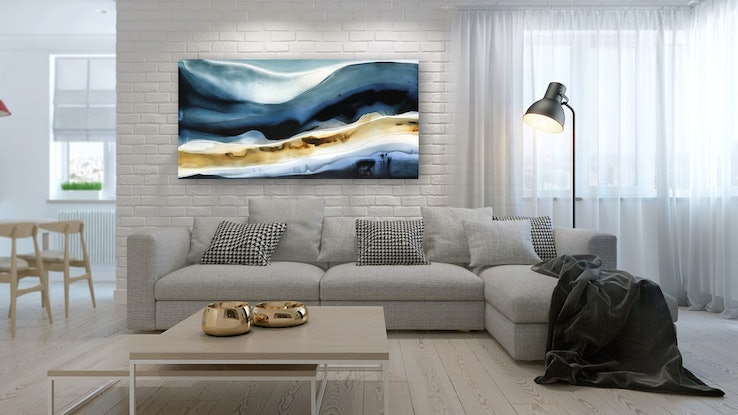 (CreativeWork) Ionis 2 by Dinah Wakefield. Acrylic Paint. Shop online at Bluethumb.