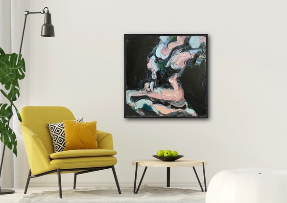 (CreativeWork) Marley by Olivia Miller. Oil Paint. Shop online at Bluethumb.