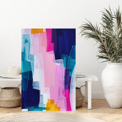 (CreativeWork) Look How Far You've Come by Maggi McDonald. Acrylic Paint. Shop online at Bluethumb.