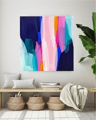 (CreativeWork) Do You Remember by Maggi McDonald. Acrylic Paint. Shop online at Bluethumb.
