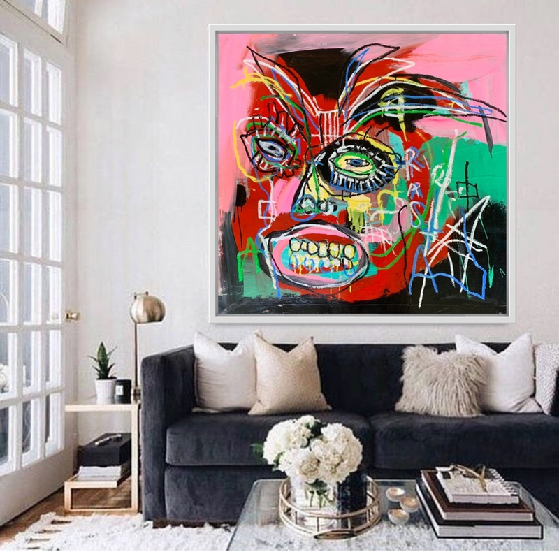 (CreativeWork) Rasta Man  by Shane Bowden. Acrylic Paint. Shop online at Bluethumb.