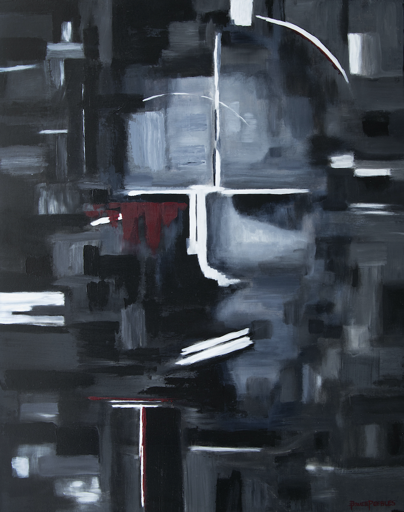 (CreativeWork) 'Inner Self' by Bruce Peebles. acrylic-painting. Shop online at Bluethumb.