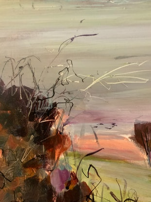 (CreativeWork) Morning Light by Ann Rayment. Acrylic Paint. Shop online at Bluethumb.