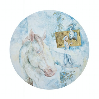 (CreativeWork) White#4 by Larissa Fraser. Mixed Media. Shop online at Bluethumb.