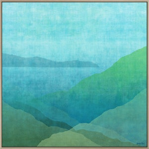 (CreativeWork) GRADUAL HARBOUR  by George Hall. mixed-media. Shop online at Bluethumb.