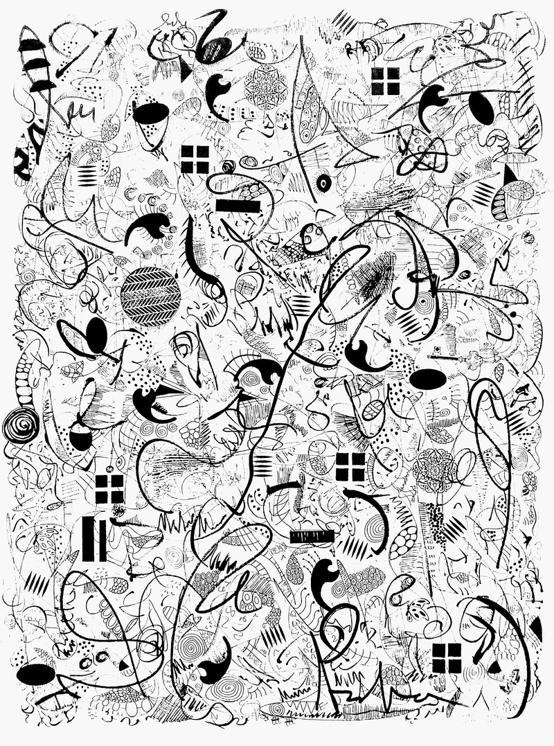 (CreativeWork) Zesty 2 by Patricia Concha. Drawings. Shop online at Bluethumb.