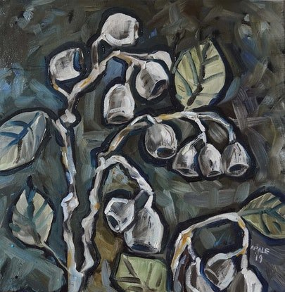 (CreativeWork) Eucalyptus by Katerina Apale. Oil Paint. Shop online at Bluethumb.
