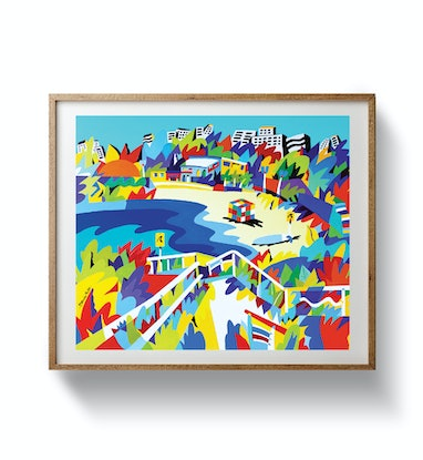 (CreativeWork) Maroubra Beach - Sydney Ed. 9 of 50 by Bruno Mota. Print. Shop online at Bluethumb.