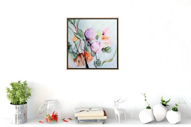 (CreativeWork) Scent of Summer by Brenda Meynell. Acrylic Paint. Shop online at Bluethumb.
