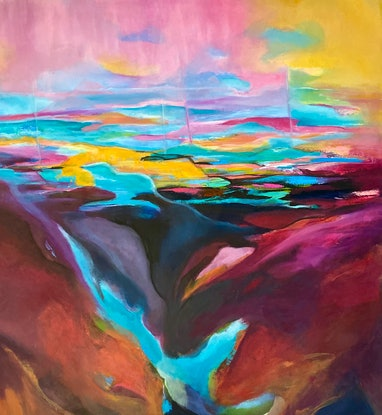 (CreativeWork) FALL  SILENT  by Tracey Berthold. Oil Paint. Shop online at Bluethumb.