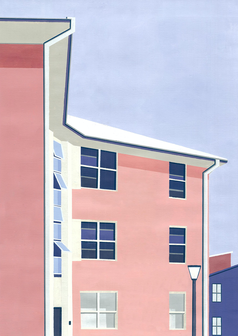 (CreativeWork) Cooper St, Redfern by Bianca Wilson. Acrylic Paint. Shop online at Bluethumb.