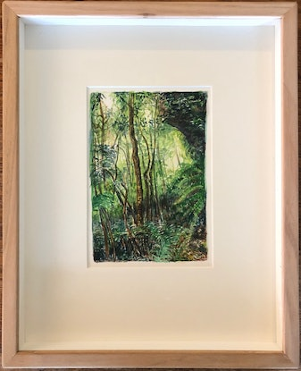 (CreativeWork) Jungle Circuit 35 by Meredith Cooper. Watercolour Paint. Shop online at Bluethumb.