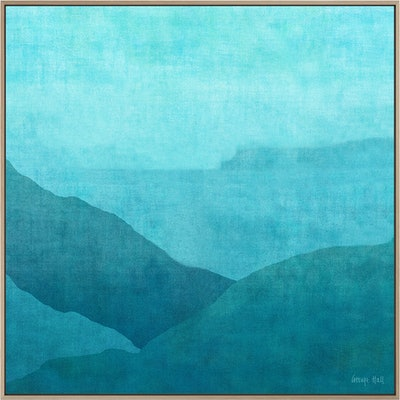 (CreativeWork) GRADUAL NIGHT HARBOUR by George Hall. mixed-media. Shop online at Bluethumb.