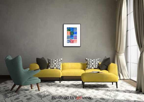 (CreativeWork) Canberra by Jennifer Baird. Mixed Media. Shop online at Bluethumb.