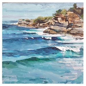 (CreativeWork) 'Northern Beaches.' by Sophie Sorella. #<Filter:0x0000556b30032fc8>. Shop online at Bluethumb.