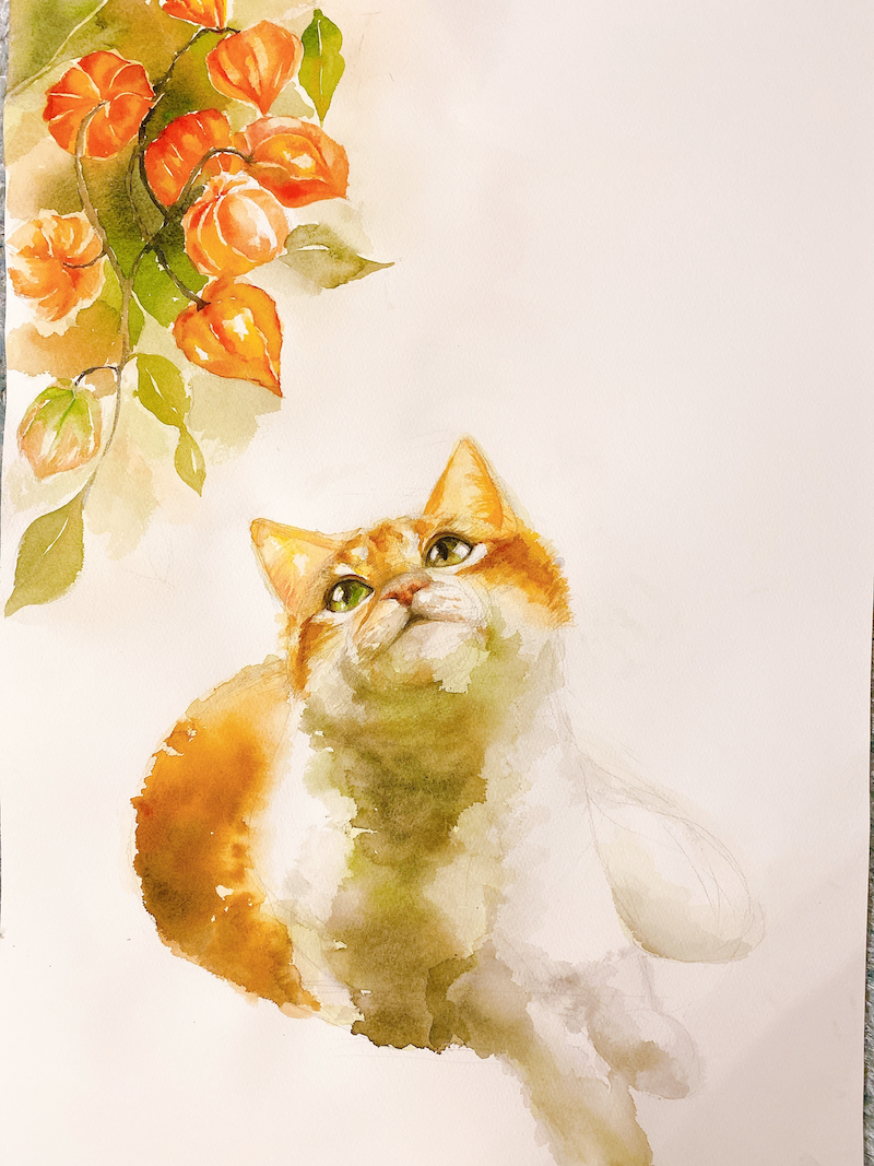 (CreativeWork) Ready for the new year  by Duillia Xu. Watercolour Paint. Shop online at Bluethumb.