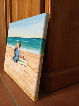 (CreativeWork) Love Always by Robyn Gray. Acrylic Paint. Shop online at Bluethumb.