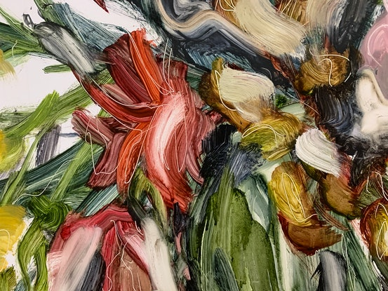 (CreativeWork) Arrangements 1 by Tym Yee. Oil Paint. Shop online at Bluethumb.