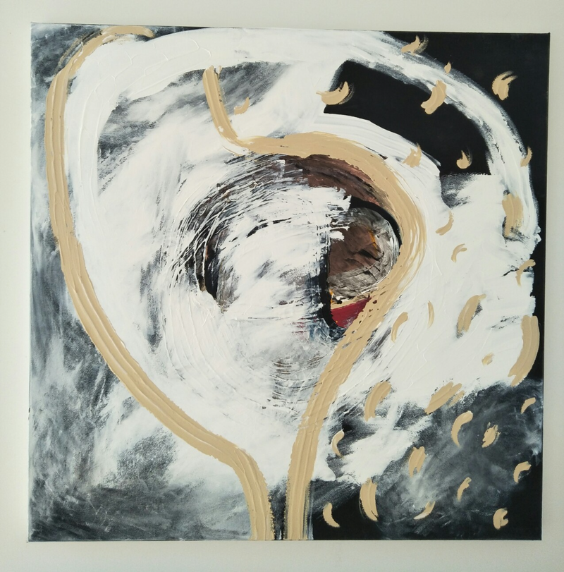 (CreativeWork) Infinite. by Courtney Bradshaw. acrylic-painting. Shop online at Bluethumb.