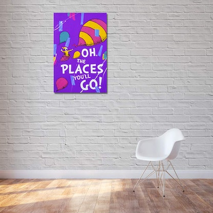 (CreativeWork) Oh The Places You'll Go by Ben Tankard. Acrylic Paint. Shop online at Bluethumb.
