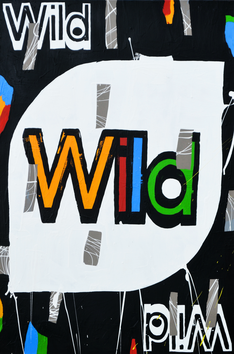 (CreativeWork) Wild 4 by Ben Tankard. acrylic-painting. Shop online at Bluethumb.