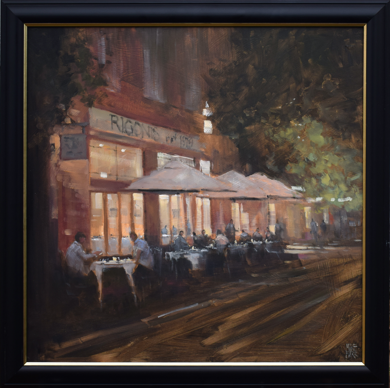 (CreativeWork) Summer at Rigonis - Gone but never forgotten! by Mike Barr. Oil Paint. Shop online at Bluethumb.