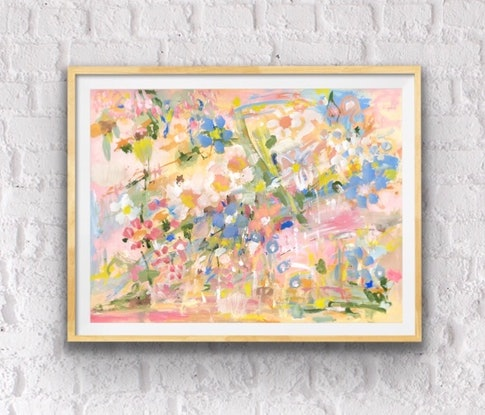 (CreativeWork) Good Morning Spring by Jane Thompson. Other Media. Shop online at Bluethumb.