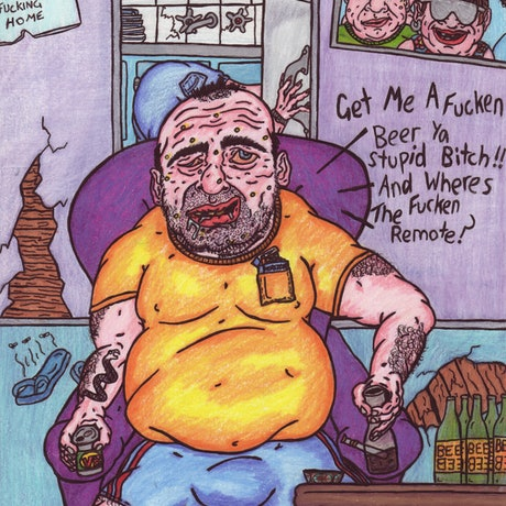 (CreativeWork) Redneck Husband by Jolon Larter. Drawings. Shop online at Bluethumb.