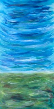 (CreativeWork) Under Southern Skies by Susanne Tester. Acrylic Paint. Shop online at Bluethumb.