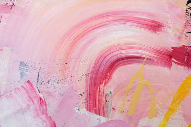 (CreativeWork) NOT THE SAME AS YESTERDAY -Contemporary Abstract Painting by Rose Hewartson. Acrylic Paint. Shop online at Bluethumb.
