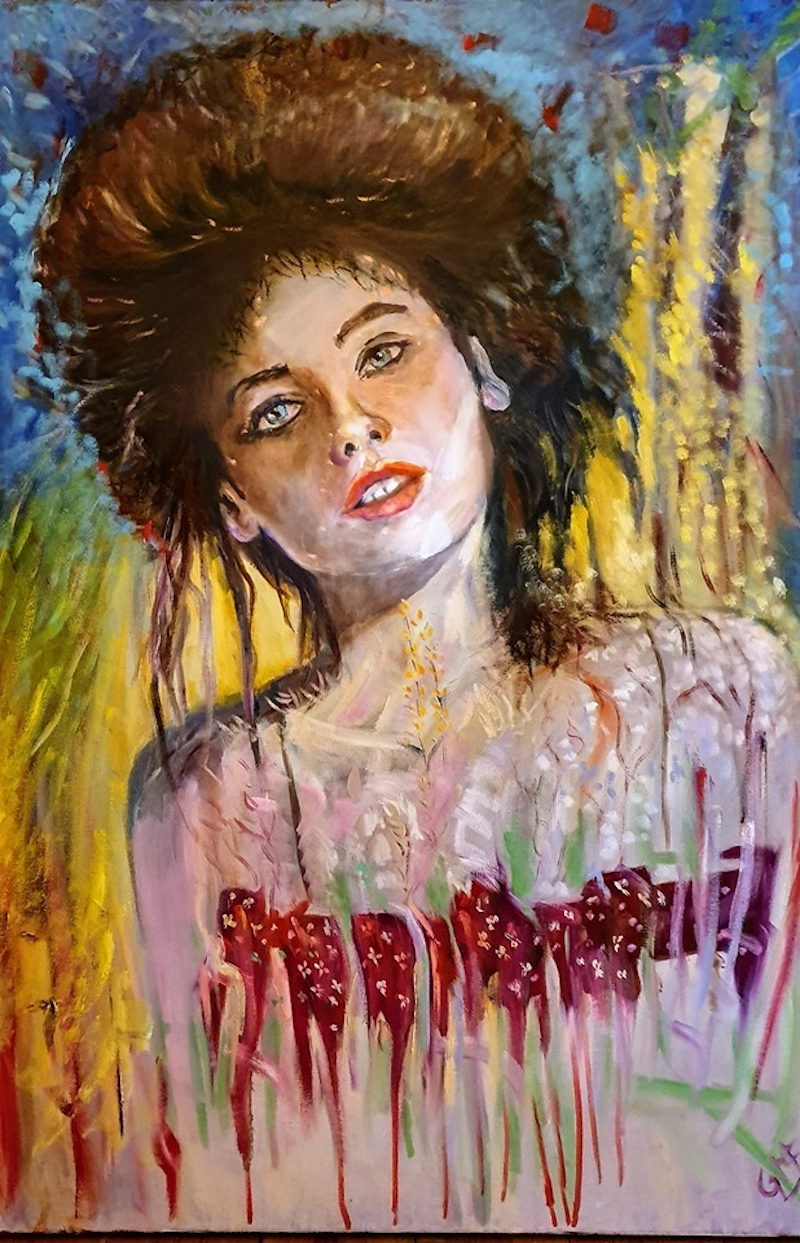 (CreativeWork) Reverie by Gerard Mignot. Oil Paint. Shop online at Bluethumb.