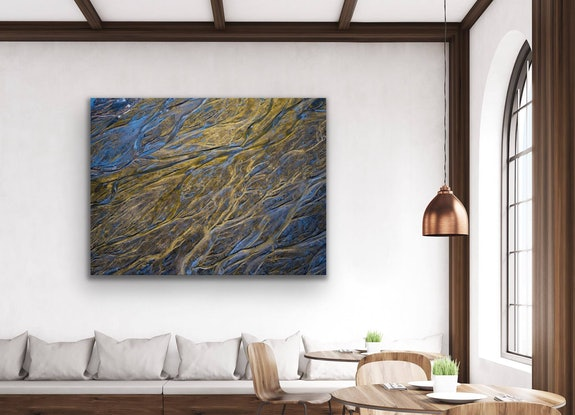 (CreativeWork) Alluvial Gold Ed. 2 of 10 by Tom Putt. Photograph. Shop online at Bluethumb.
