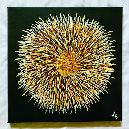 (CreativeWork) No Title by Abigail Beck. Acrylic Paint. Shop online at Bluethumb.