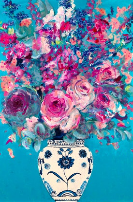 (CreativeWork) Haute en Couleur (High in Colour) Original Limited Edition Giclee Fine Art Print      by Tanya Cole. Print. Shop online at Bluethumb.