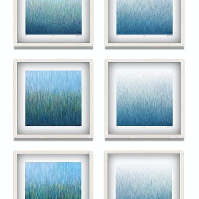 (CreativeWork) 'The Six Paradises'  Limited Edition Print Set of 6  Ed. 12 of 100 by George Hall. print. Shop online at Bluethumb.
