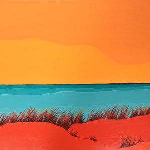 (CreativeWork) Red Dunes by Marian Quigley. #<Filter:0x00007fef2e041300>. Shop online at Bluethumb.